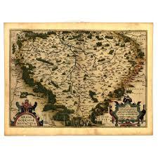 Bohemia Map Cartography Old Maps Countries Dolls House Miniature Mytinyworld