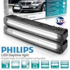 Automotive Led Light Strips 100 Authentic Philips Car Led Daylight Guide Drl Daytime Running