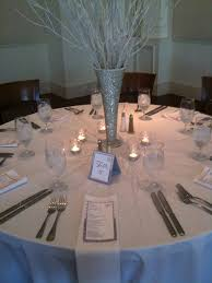 holiday and winter wonderland themed wedding table designs table