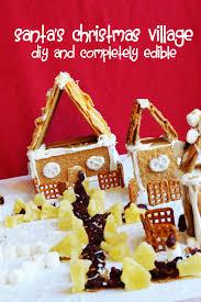 edible diy christmas craft santa u0027s winter village confident
