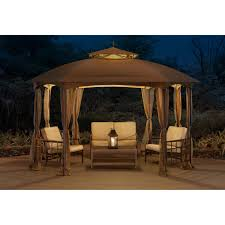 Mainstays Gazebo Replacement Parts by Sunjoy 12 X 10 Ft Cardiff Soft Top Gazebo Walmart Com