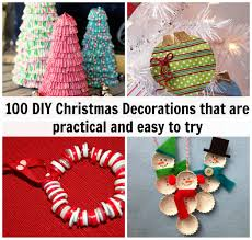 Christmas Decorations Online Mumbai by 100 Diy Christmas Decorations That Are Practical And Easy To Try