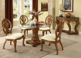 Glass Top Dining Room Table Sets Glass Dining Table Sets