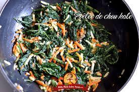 comment cuisiner le chou kale poêlée de chou kale petits plats entre amis