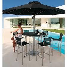 Outdoor Patio Set With Umbrella Outdoor Umbrellas Patio Caravita Modern Large Umbrella