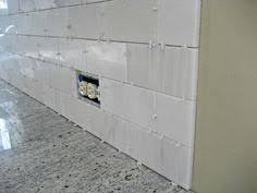 Backsplash Ideas For Granite Countertops White Marble Mosaic - White marble backsplash