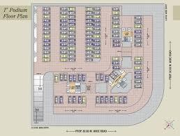Podium Floor Plan by Mahaavir