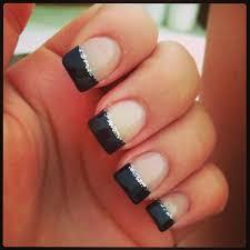 navy nails nail art pinterest colors cute nails and french