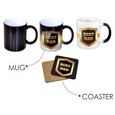 Best Mug by Best Dad Black Magic Mug Giftsmate