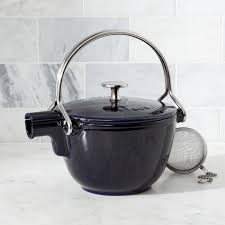 Grey Kettle And Toaster Staub Navy Blue Tea Kettle Crate And Barrel