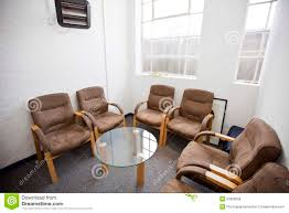 Office Furniture Chairs Waiting Room Interior Of Waiting Room With Chairs And Table In Television