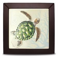ceramic tile sea turtle