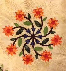 polynesian bouquet block 3 designed by phyllis moody u2013 phyllis