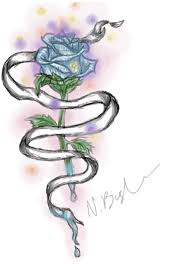 rose x ribbon tattoo idea 1 by neonnix on deviantart