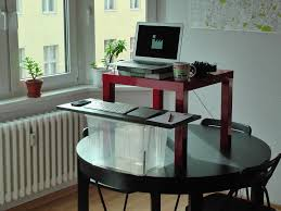 diy standing desk converter standing desk converter mounted home design ideas how to build a