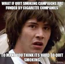 Stop Smoking Memes - cigarette memes home facebook