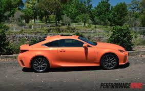 lexus sport 2015 lexus rc 350 f sport review video performancedrive