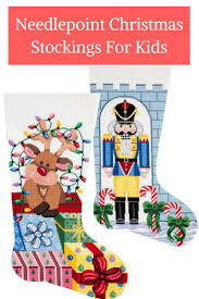 accessories cute design of personalized needlepoint christmas