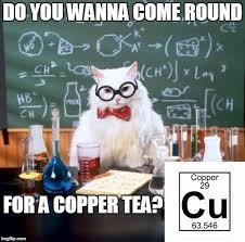 chemistry cat meme imgflip