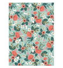 floral wrapping paper birch wrapping sheets rifle paper birch and patterns