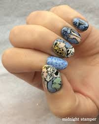 midnight stamper challenge your nail art christmas