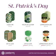 saint patrick u0027s day exclusives 2017 jamberry holiday