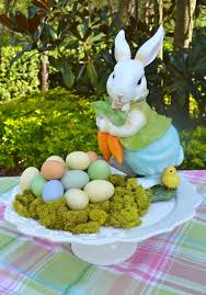 Bunny Rabbit Home Decor Alluring Home Dining Table Easter Centerpiece Decor Establish