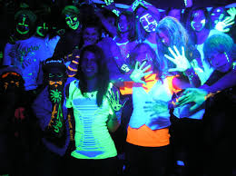 Glow In The Dark Lights Black Light Party Ideas Ideas Hq