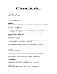 Technical Consultant Cv It Cv Template Cv Library Technology Job Description Java Cv Data