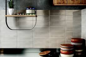 kitchen travertine subway tile kitchen backsplash with a mosaic