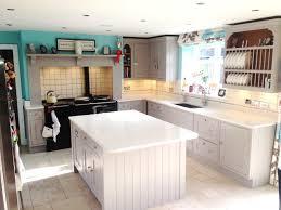 granite countertop white kitchen oak worktop microwave with