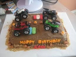 log truck cake ideas 65589 monster truck cake cake ideas p