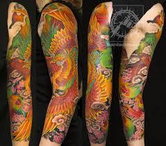 paradise tattoo gathering tattoos george bardadim japanese