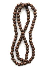 wood beaded necklace images Oooh pretty wooden bead necklaces you frill me png