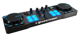 amazon com hercules djcontrol compact super mobile usb controller