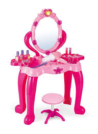 childrens dressing table mirror with lights vinsani girls princess dressing table stool play set features vanity