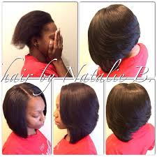 bob sew in hairstyle 40 chicest sew in hairstyles for black women