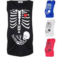 happy mama women u0027s maternity halloween baby skeleton t shirt top