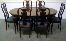 Black Oval Dining Room Table - black and cherry dining room set black and cherry dining sets
