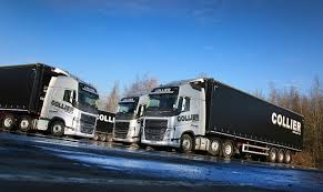 volvo commercial truck dealer truck and bus wales and west supplies five volvo fhs to collier