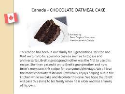 international celebration cookbook ppt download