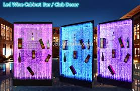 Bar Wall Shelves by Las Vegas Decoration Led Acrylic Water Dancing Bubble Wall Used