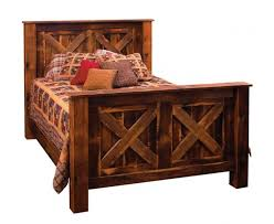 bed frame rustic wooden bed frames xxpge rustic wooden bed