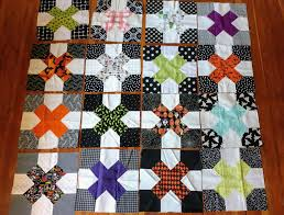 halloween spooky ghost pumpkin quilt quiltytherapy quiltytherapy