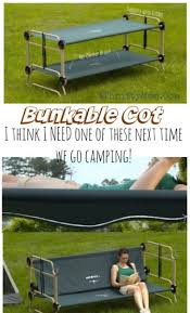 Portable Bunk Beds Portable Bunk Bed Cot For Cing And