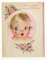 425 best greeting cards images on vintage greeting