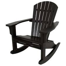 Black And White Patio Furniture Rocking Chairs Patio Chairs The Home Depot