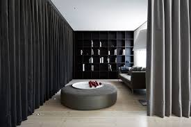 apartment fascinating sitting space in house a with rounded sofa
