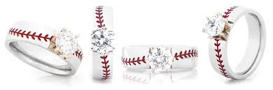 baseball wedding ring titanium buzz jewelry linden mi weddingwire