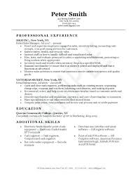 retail sample resume resume cover letter samples sales associate